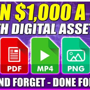 Earn $1,000 A Day With DIGITAL ASSETS Set Up Under 30 Minutes (EASY PASSIVE INCOME)