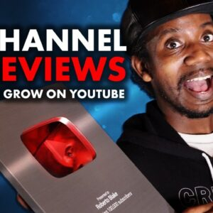 Why You're NOT Getting Views on YouTube // LIVE CHANNEL REVIEWS + HUGE YOUTUBE UPDATES