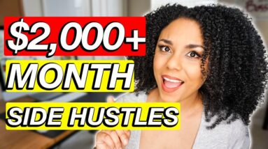 $2000/Month For Beginners. 5 Ways To Make $2000 A Month Online