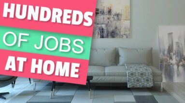 Earn Money Online Working Remotely From Home