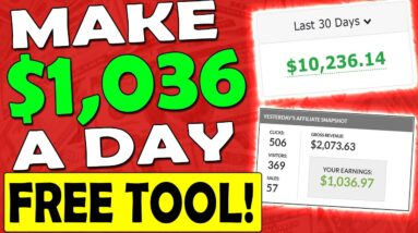 Make Money With Affiliate Marketing Made EASY With This FREE Tool!
